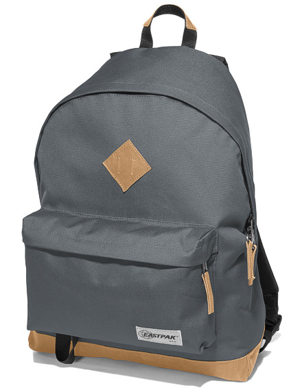 eastpak rucksack wyoming grau schul rucksack mit. Black Bedroom Furniture Sets. Home Design Ideas