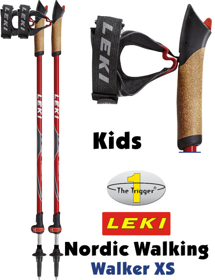 leki nordic walking st cke walker xs speedlock trigger 1. Black Bedroom Furniture Sets. Home Design Ideas